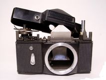 被拆卸的照相机 库存照片