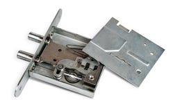 被拆卸的门锁 免版税图库摄影