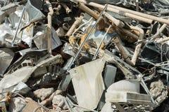 被拆毁的大厦,刘易斯,东萨塞克斯郡,英国 库存照片