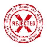 被拒绝的印花税 库存例证