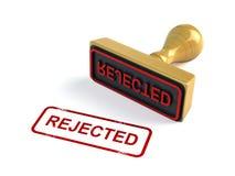 被拒绝的印花税 皇族释放例证