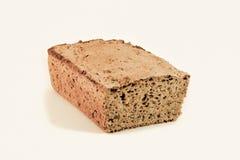 被拼写的黑面包黑麦 库存图片