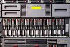 被挂接的机架服务器 免版税库存照片