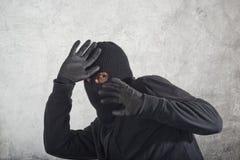 被捉住的夜贼 免版税库存照片