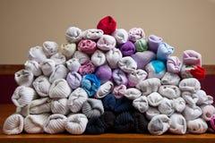 被排序的袜子 免版税图库摄影