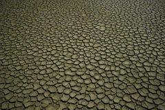 被排泄的土壤 免版税库存图片