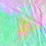 被提取的水彩五颜六色的难看的东西艺术 免版税库存图片