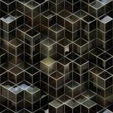 被提炼的立方体背景 免版税图库摄影