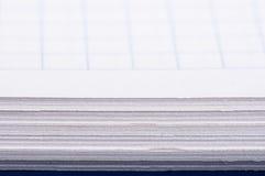 被摆正的笔记本 免版税库存照片
