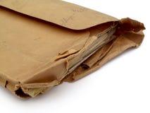 被撕毁的信包 免版税图库摄影