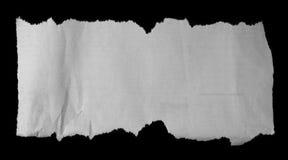 被撕毁的纸张 图库摄影