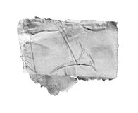 被撕毁的纸张 免版税库存照片