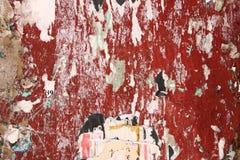 被撕毁的背景海报 库存照片