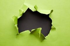 被撕毁的绿皮书 库存照片