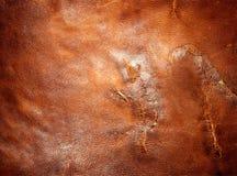 被撕碎的皮革 免版税库存照片