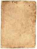 被撕碎被构造的老纸张 库存照片