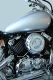 被擦亮的摩托车 免版税库存照片