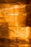 被擦亮的铜背景 免版税库存照片