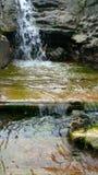 被改变的河 库存照片