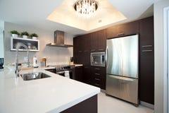 被改造的厨房 库存图片