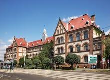 被改革的师范学院在德布勒森 匈牙利 库存图片