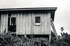 被放弃的住房 库存照片