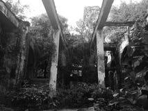 被放弃的修造的马尼拉王城区 图库摄影