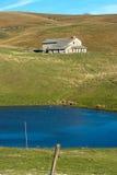 被放弃的农厂议院- Lessinia意大利 免版税库存照片