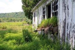 被放弃的农场 免版税库存图片