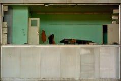 被放弃的办公室 免版税图库摄影