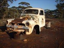 被放弃的卡车 免版税图库摄影