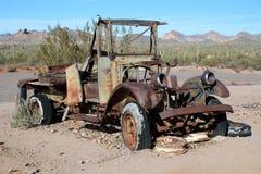 被放弃的卡车 图库摄影