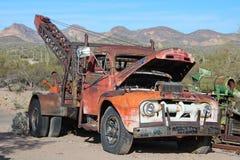 被放弃的卡车 库存照片