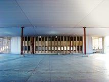 被放弃的口岸在巴伦西亚 免版税库存照片