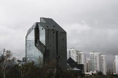 被放弃的商业中心在莫斯科 库存图片