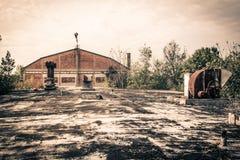 被放弃的地方-箭头 免版税库存照片