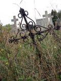 被放弃的坟墓 库存图片