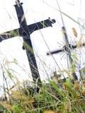 被放弃的坟墓 免版税库存图片
