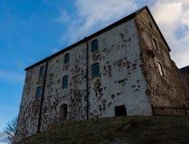 被放弃的城堡 免版税库存照片