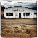 老城镇厅 库存照片