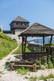 被放弃的堡垒 免版税库存图片