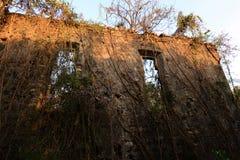 被放弃的堡垒 免版税图库摄影