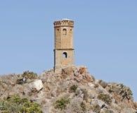 被放弃的塔,西班牙 免版税图库摄影