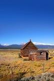 被放弃的大农场 免版税库存图片