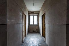 被放弃的大厅 图库摄影