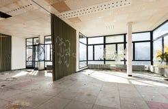 被放弃的大厦 免版税库存图片