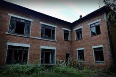 被放弃的大厦 库存图片