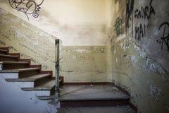 被放弃的大厦 图库摄影