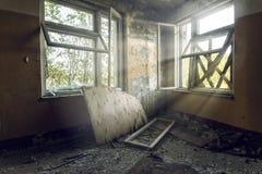 被放弃的大厦 库存照片