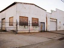 被放弃的大商店 免版税库存图片